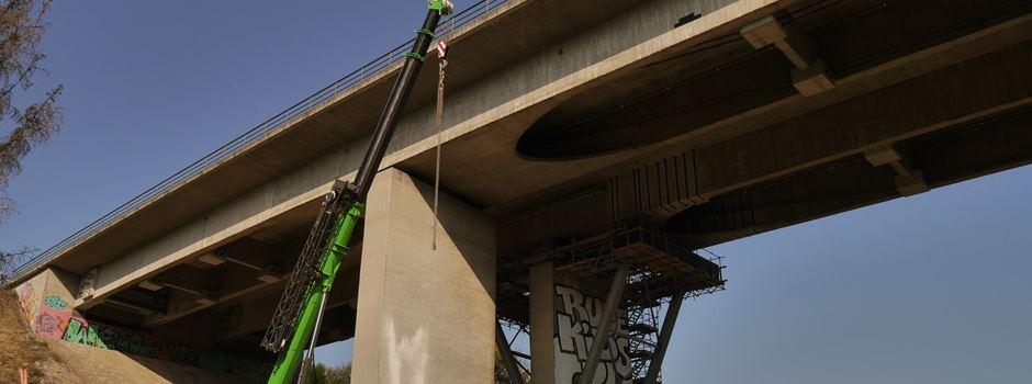 Salzbachtalbrücke soll gesprengt werden