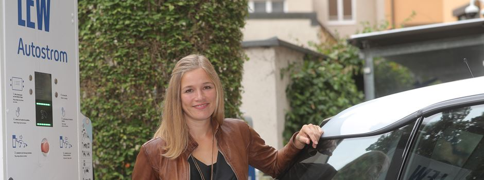 E-Mobilität in Augsburg – einmal 9 mit Rebecca Golling
