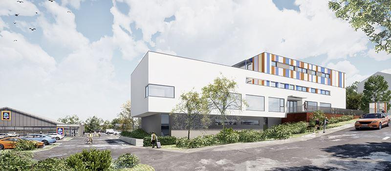 Aldi startet Bau einer Kita in Dotzheim