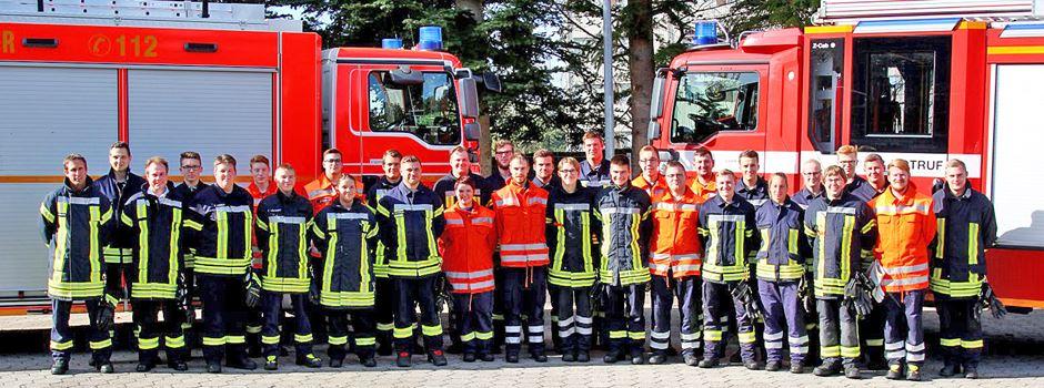 57 Feuerwehrleute waren erfolgreich dabei