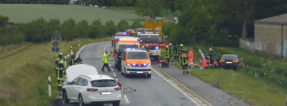 Mehrere Verletzte bei Unfall in Drais