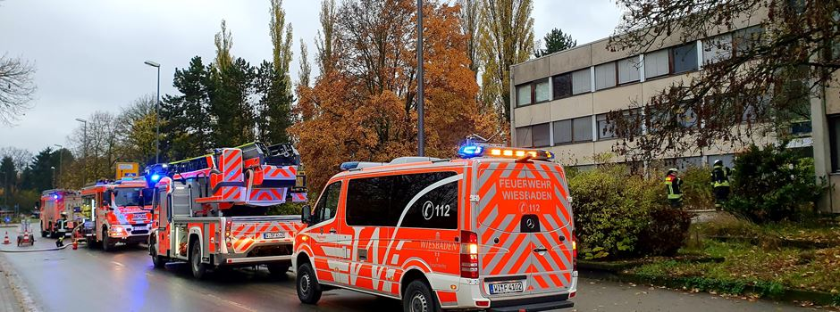 Brandstifter legen Feuer in Erbenheim