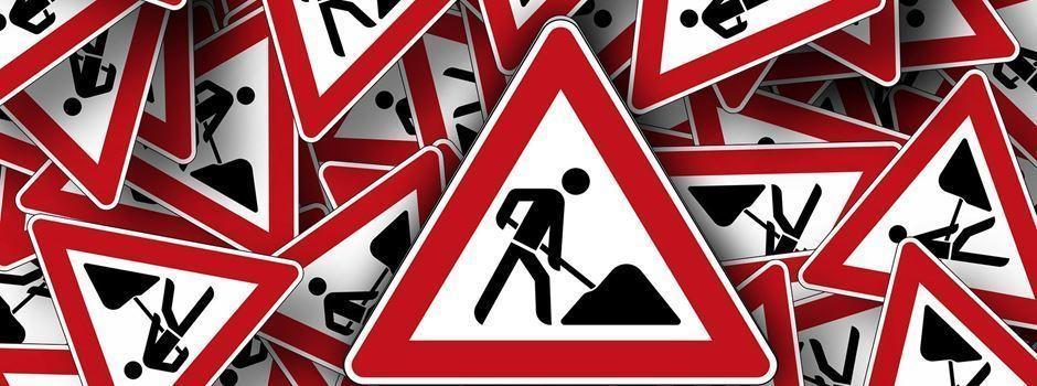 B 420: Bundesstraße im Herbst 10 Wochen voll gesperrt