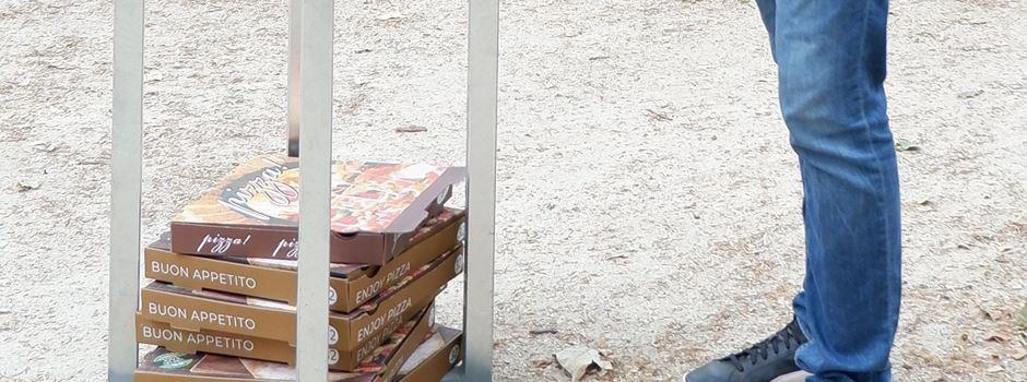 """In Mainz gibt es jetzt """"Pizzakarton-Sammler"""""""