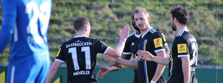 FCS in Frühform! 4:0 gegen Drittligist Großaspach