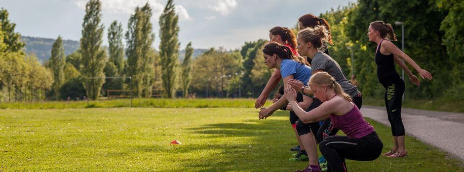 Professionelles Workout im Wittelsbacher Park!