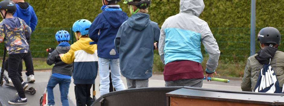 Gemeinde begrenzt Öffnungszeiten des mobilen Pumptracks