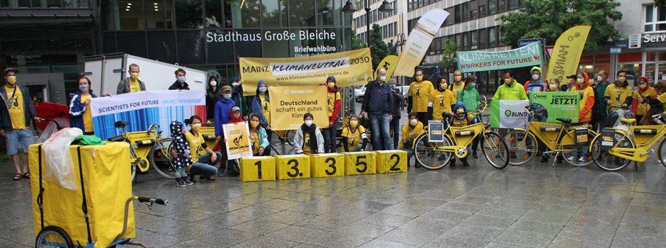 Bürgerinitiative sammelt über 13.000 Unterschriften für Mainzer Klimaentscheid