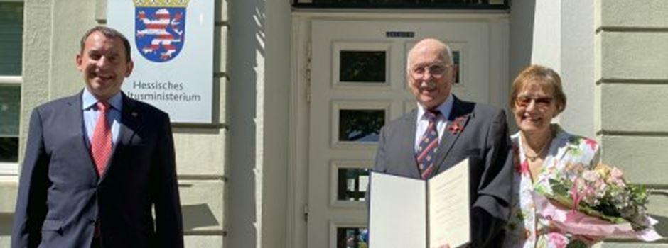 Wiesbadener Arzt erhält Verdienstorden für seinen Kampf gegen den Krebs