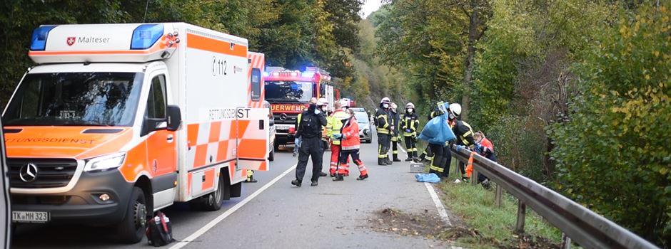 Motorradfahrer (27) aus Mannheim bei Eppstein tödlich verunglückt