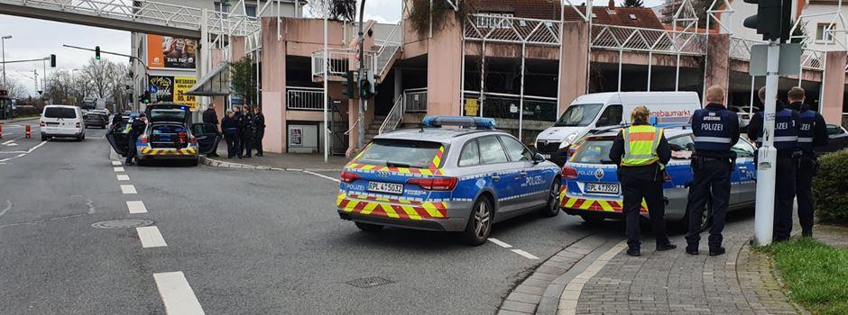 Wegen möglichen Schusses: Polizeieinsatz in Weisenau