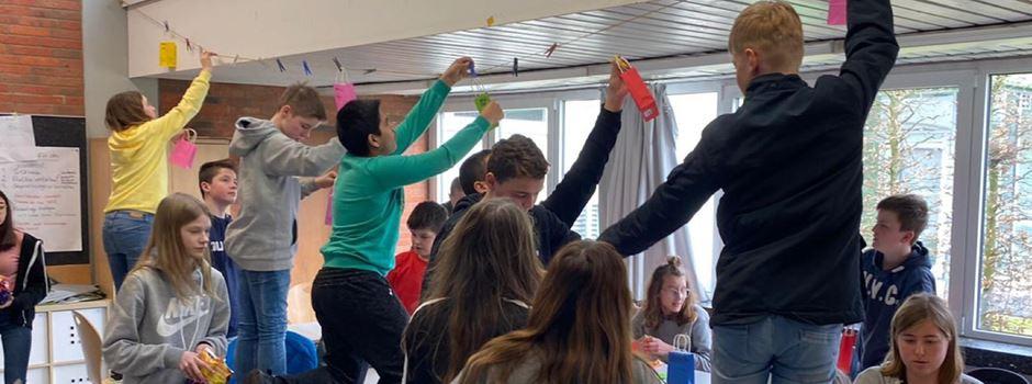 Werte werden an der Von-Zumbusch-Gesamtschule hoch gehängt