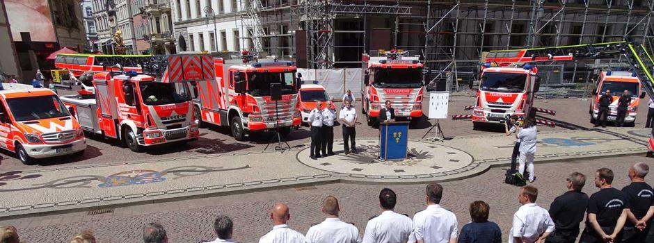 Neue Einsatzfahrzeuge für die Feuerwehr