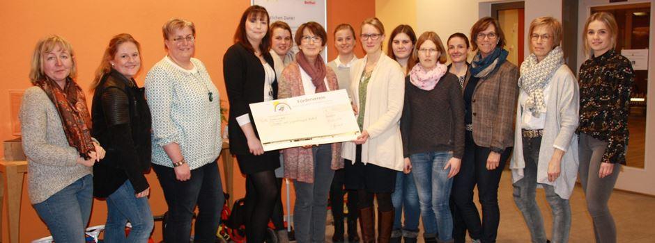 Förderverein der KiTa St. Christina spendet 400 EUR an das Kinderhospiz in Bethel