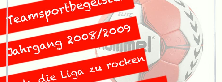 Handballer Herzebrock: Wir suchen dich!