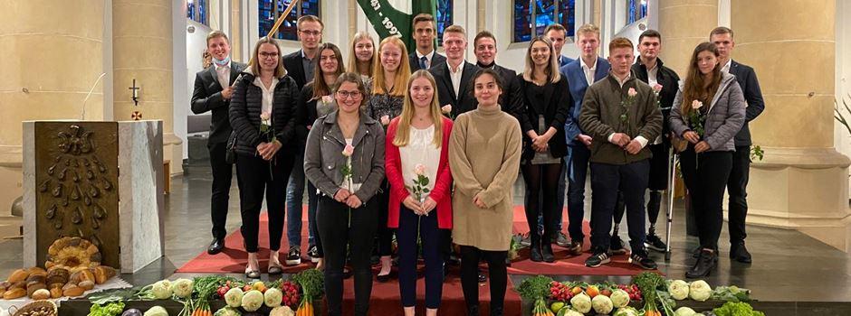 Erst Kirche, dann Party: 13 Neue für die Landjugend