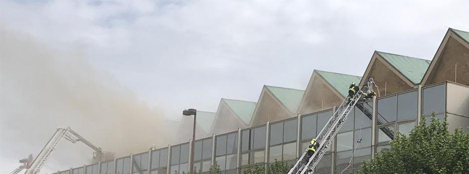 Rheingoldhalle: Teile des Dachs eingestürzt