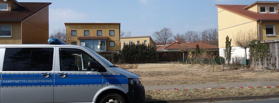 Panzergranate im Wohngebiet gefunden