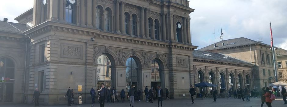 Herrenloser Koffer am Hauptbahnhof