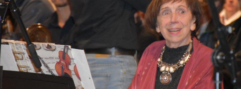 Auch mit 80 musikalisch engagiert: Hildegard Feldmeier-Vogel