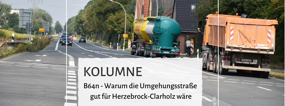 Kolumne: B64n - Warum die Umgehungsstraße gut für Herzebrock-Clarholz wäre