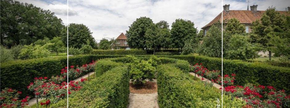 LWL-Flyerserie über Gärten startet mit Klostergarten Clarholz