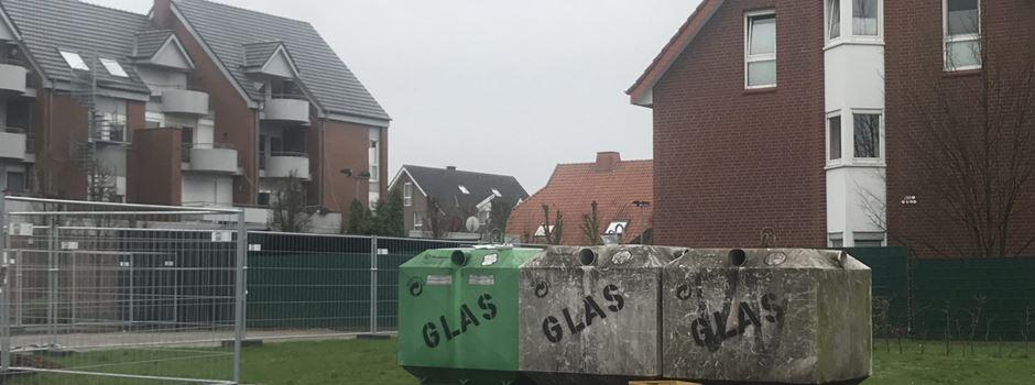 Verlegung der Altglascontainer an der Theodor-Heuß-Straße