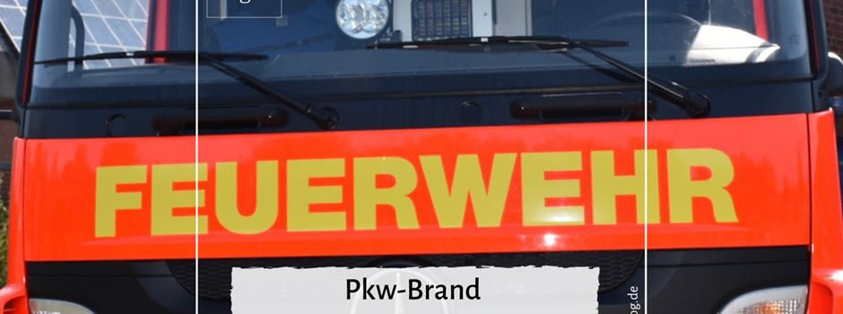 Pkw-Brand am Feldmannsweg