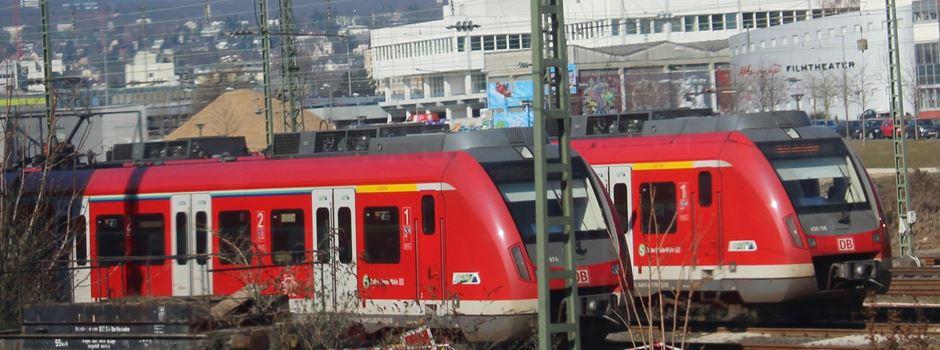 Zugverkehr zwischen Mainz und Wiesbaden gestört