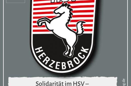 Solidarität im HSV – Beitragsanpassung wegen Coronakrise