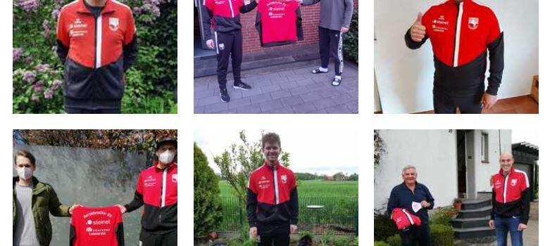 Neue Trainingsanzüge für die HSV-Schiedsrichter