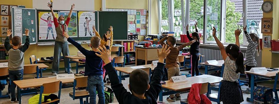 """Erstklässler der Drei-Linden-Schule starten mit """"Klasse2000"""""""