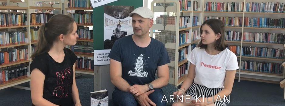 VZG: Lesung und Schreibwerkstatt mit Arne Kilian