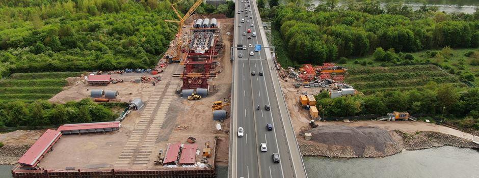 A643: Schiersteiner Brücke an drei Wochenenden gesperrt