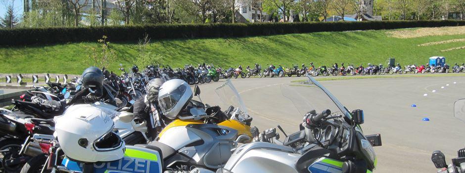 Biker-Aktionstag der Polizei