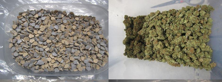 Kriminalpolizei nimmt Dealer fest und findet Drogen im Wert von 100.000 Euro