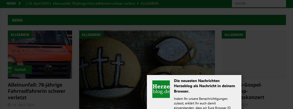 Herzeblog Browser-Push-Nachrichten aktivieren & deaktivieren
