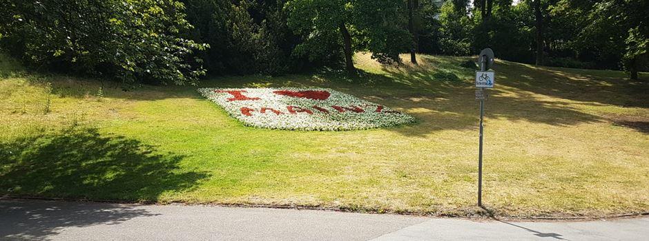 Wieso die Blumenuhr aus dem Stadtpark entfernt wurde