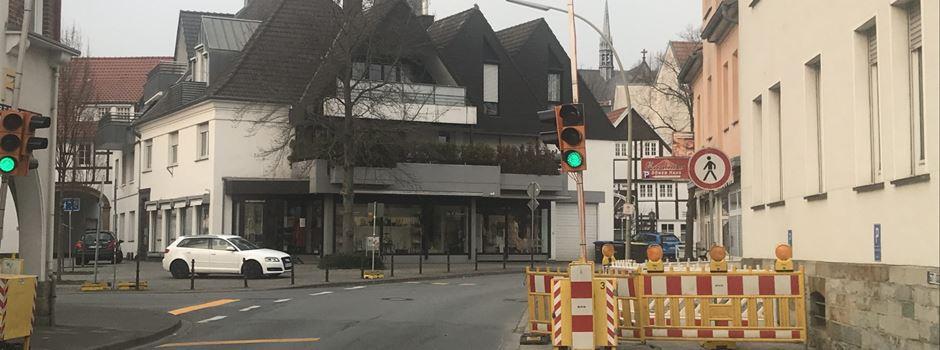 Baustellenampel Gildestrasse