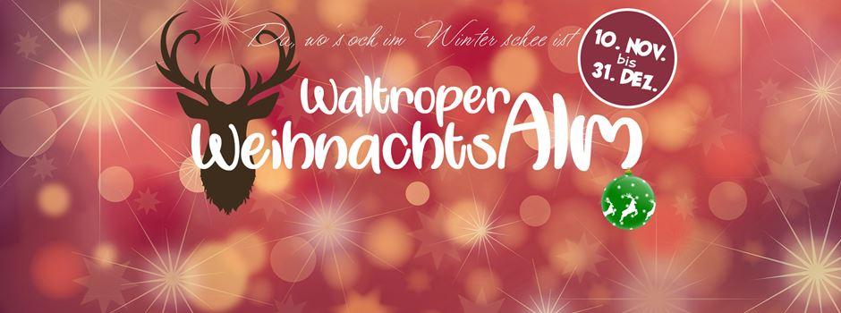 Eisstockschießen, Event-Stadl, Live-Acts: In Waltrop entsteht ein Weihnachtsdorf
