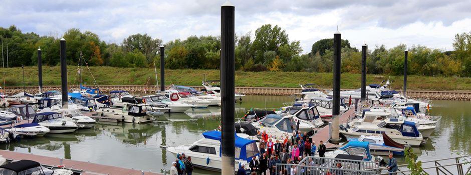 Zündorf: Neuer Yachthafen festlich eingeweiht