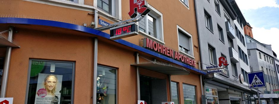 Mainzer Mohren-Apotheke ändert Logo