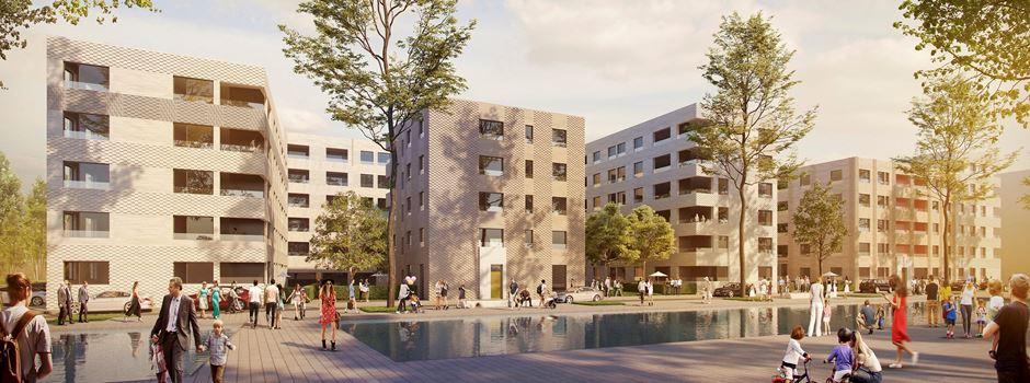 Zollhafen: Mehr geförderter Wohnraum geplant