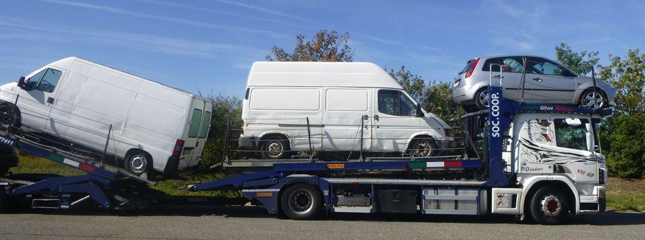 """A61 bei Wörrstadt: """"Afrikatransport"""" aufgeflogen"""