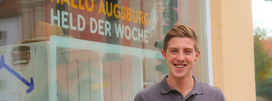 Marco Sternheimer – einmal 9 mit Augsburgs Eishockey-Talent