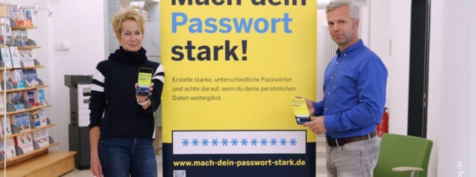Mach Dein Passwort stark