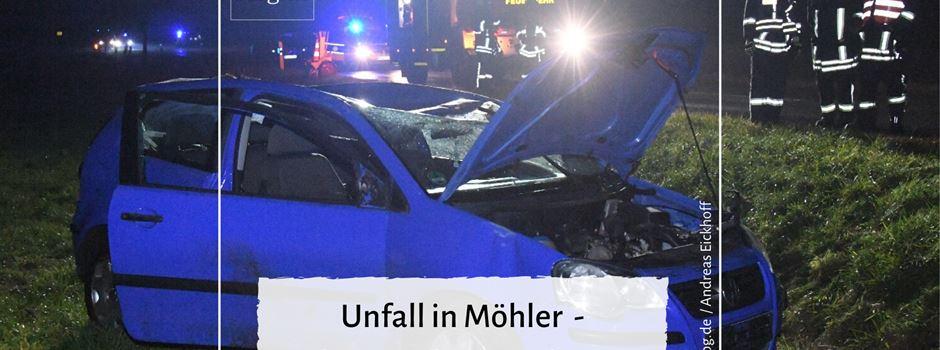 Unfall in Möhler