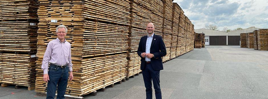 Holzknappheit: Firmen sind besorgt