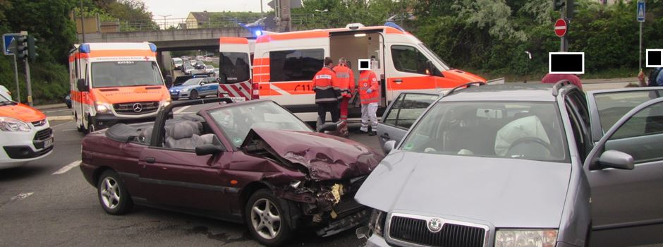 Zwei Schwerverletzte bei Unfall in Bad Kreuznach