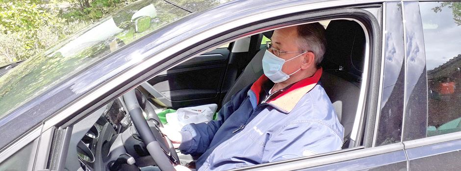 Maske beim Autofahren?